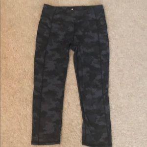 Kyodan camo crop leggings